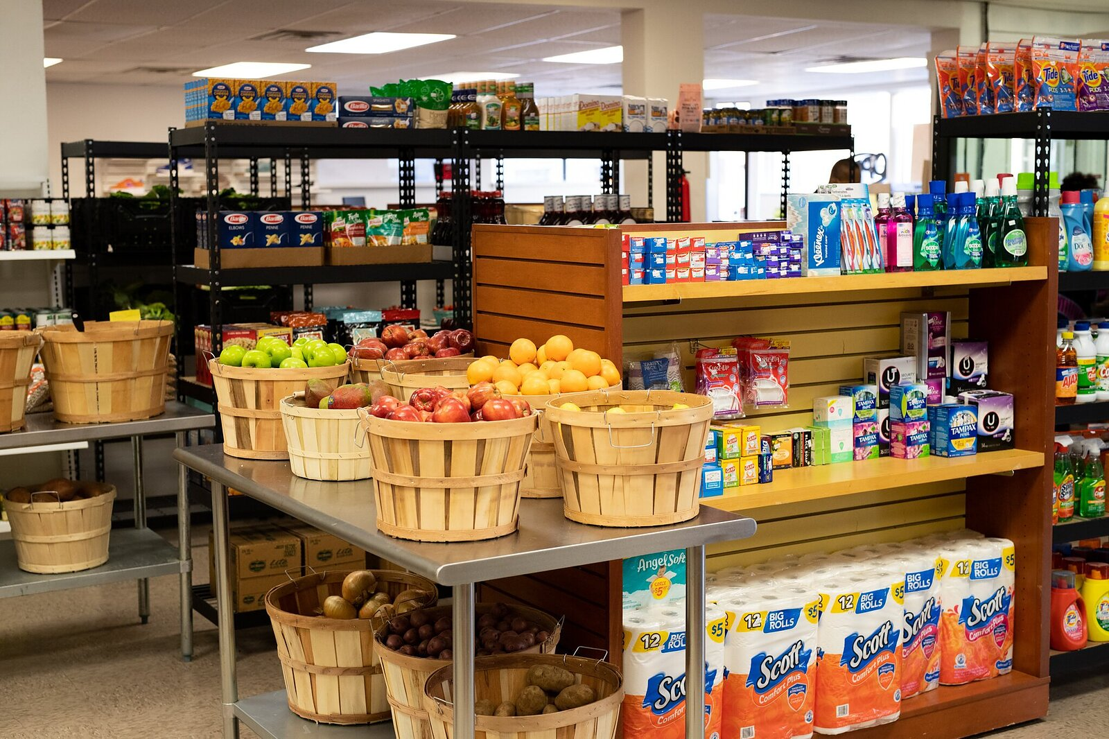 Grand Opening of the Utopian Community Grocery Store